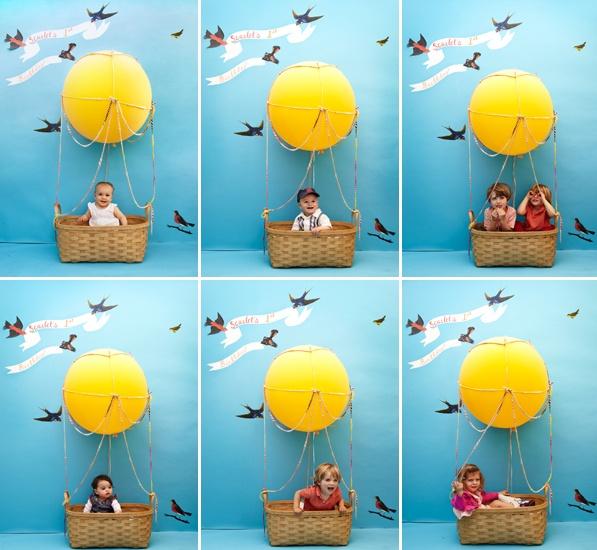 Un photocall divertido para una minifiesta el bote de - Fondos para photocall ...